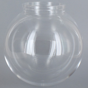 18in Diameter X 6in Fitter Acrylic Ball - Clear