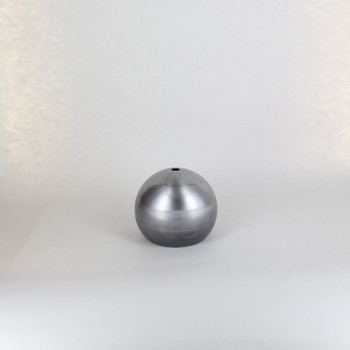 100mm. Unfinished Steel Open Ball Shade with 1/8ips Hole and 2-7/8in. Opening