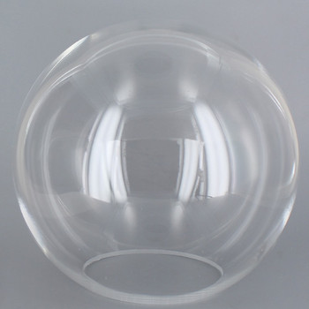 18in Diameter X 5-1/4in Diameter Hole Acrylic Neckless Ball - Clear