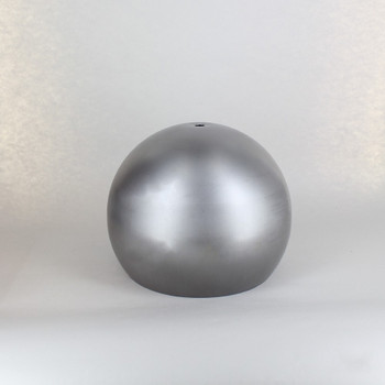 200mm (7-7/8in) Steel Open Ball Shade With 1/8ips Slip Through Center Hole - Unfinished Steel