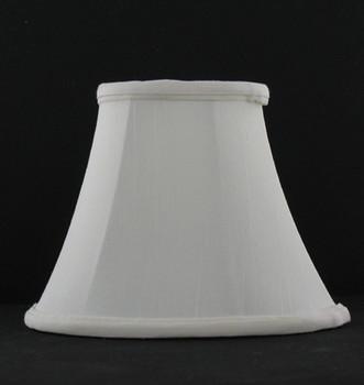 4-1/2in. Egg Shell Candelabra Bulb Clip On Lamp Shade