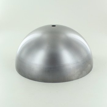 200mm. Unfinished Steel Dome Shade with 1/8ips. Slip Through Hole
