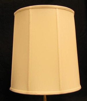 17in. Egg Shell Stretch Shantung Lamp Shade