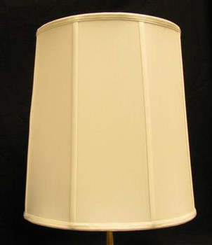 19in. Off White Stretch Shantung Lamp Shade