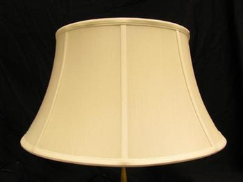 10in. Off White Stretch Shantung Lamp Shade