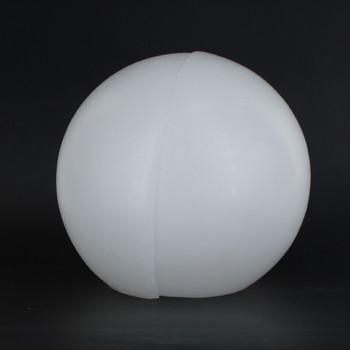 6in. X 3-3/8in. Neckless Roto-Molded Polyethylene Globe