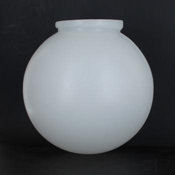 6in. X 3-1/4in. Necked Roto-Molded Polyethylene Globe