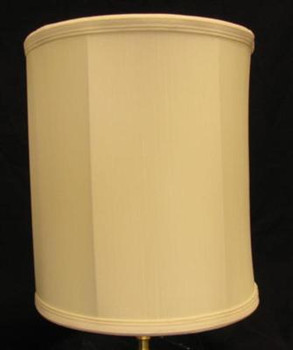 10in. Egg Shell Drum Stretch Shantung Lamp Shade