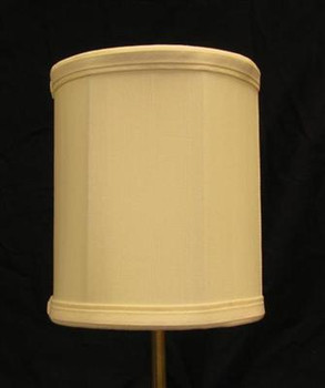 6in. Egg Shell Drum Stretch Shantung Lamp Shade