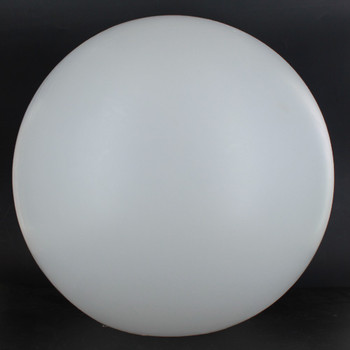 16in. X 5-1/4in. Neckless Roto-Molded Polyethylene Globe