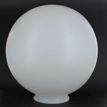 10in.  X 4in.  Necked  Roto-Molded Polyethylene Globe