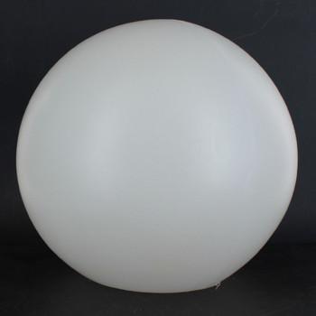 8in. X 4-1/8in. Neckless Roto-Molded Polyethylene Globe