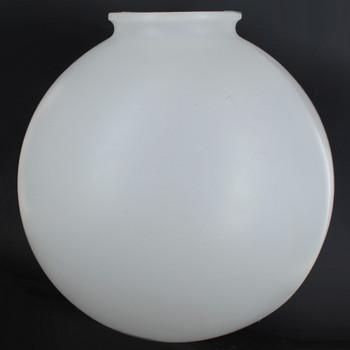 12in.  X 4in. Necked Roto-Molded Polyethylene Globe