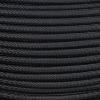 250ft Spool Black Nylon Covered Oval 2 X 0.75mm Ho3vvh2-f Harmonized PVC Jacketed Light Duty Flexible Cord