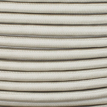 16/3 SJT-B Light Birch Nylon Fabric Cloth Covered Lamp and Lighting Wire.