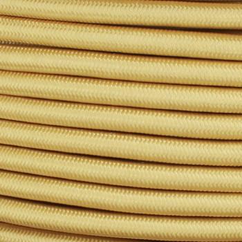 16/3 SJT-B CornSilk Nylon Fabric Cloth Covered Lamp and Lighting Wire.