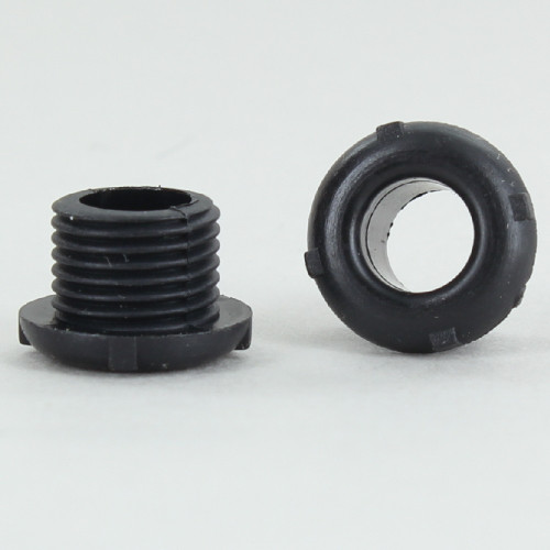 1/8ips. Male Threaded Plastic Bushing - Black