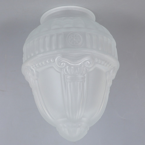 3-1/4in Fitter Frosted Roman Glass Shade