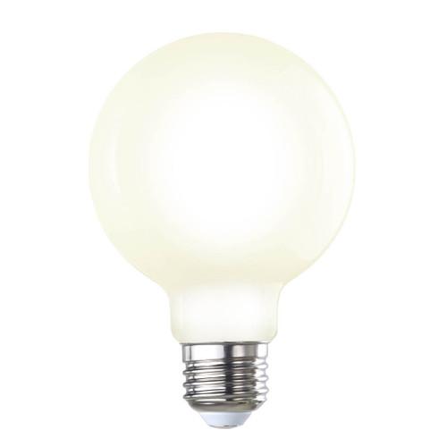 7W LED E26 Base G25 Filament 2700K Bulb Milky