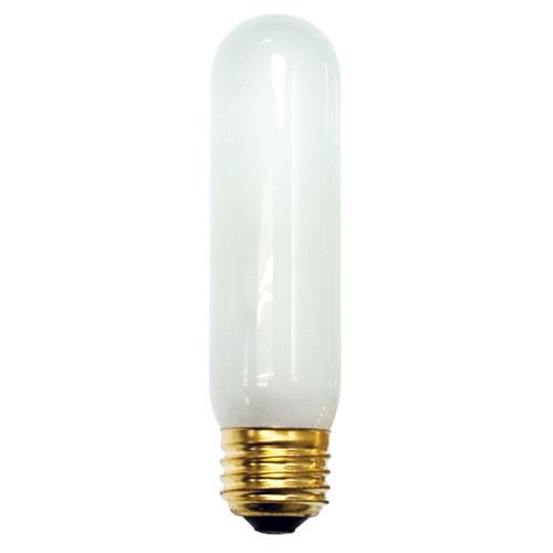 25W Frosted E-26 Base T10 Tubular Bulb