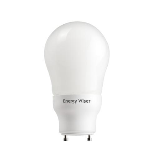 Energy Saver! 15W Twist and Lock GU24 Base A19 Style Fluorescent Bulb