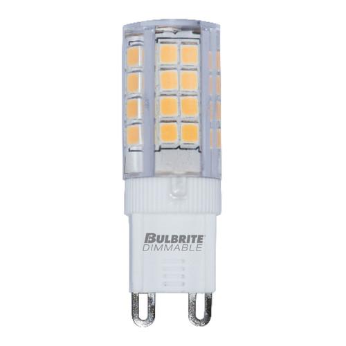 4.5W T6 120V 2-Pin G9 Base Clear Finish 3000K Specialty LED Miniature Light Bulb