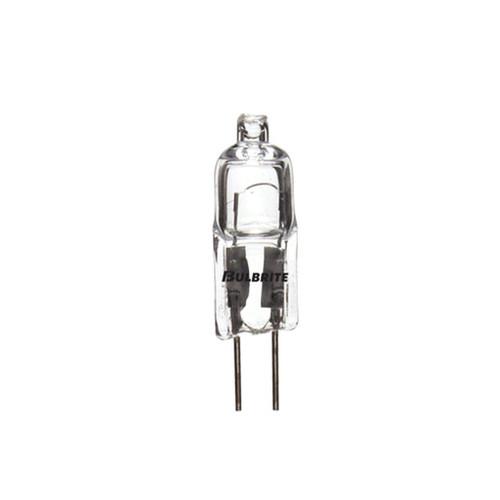 10W Halogen Clear G-4 Base T3 Tubular Bulb