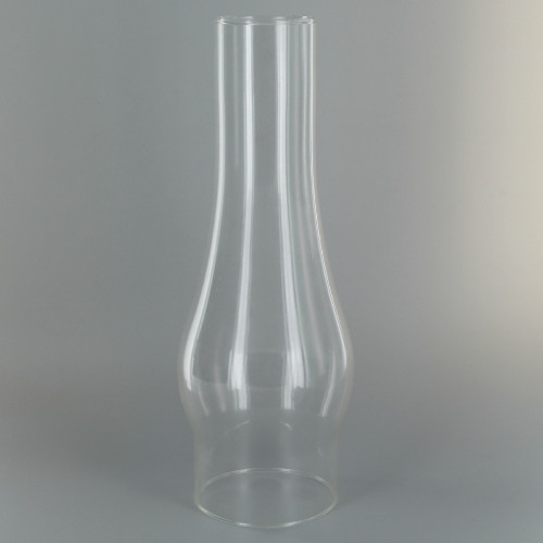 10in. Tall Clear Chimney with 2-5/8in. Neck