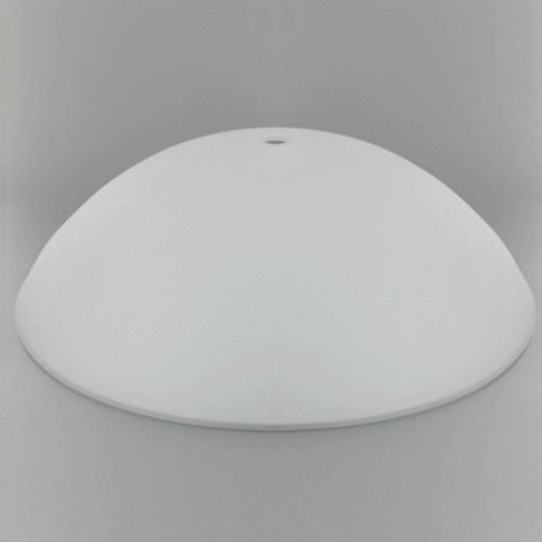 12in Diameter X 3-1/2in. Deep Sandblasted/White Painted Dish with 1/2in