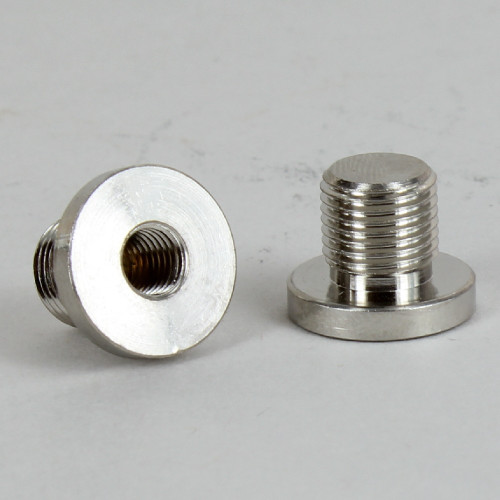 1/4-27 Female X 1/8ips. Male Thread Nickel Plated Finish Shade Rest