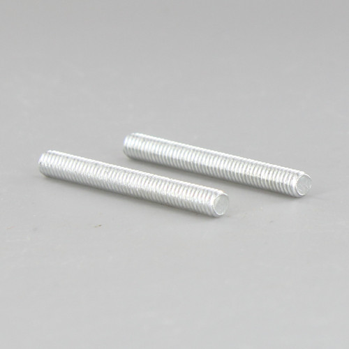 1-1/2in Long X 8/32 Threaded Unfinished Steel Stud