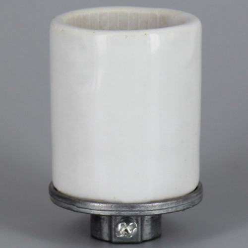 1/4ips - Leviton - E-26 Base Porcelain Keyless Socket with Screw Terminals