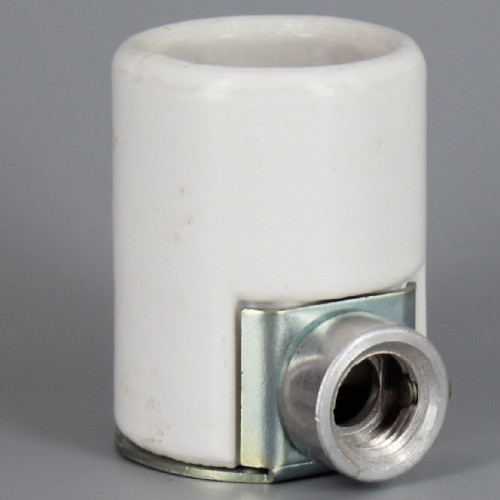 E-26 Porcelain Keyless Socket with 1/4ips. Side Outlet Bushing