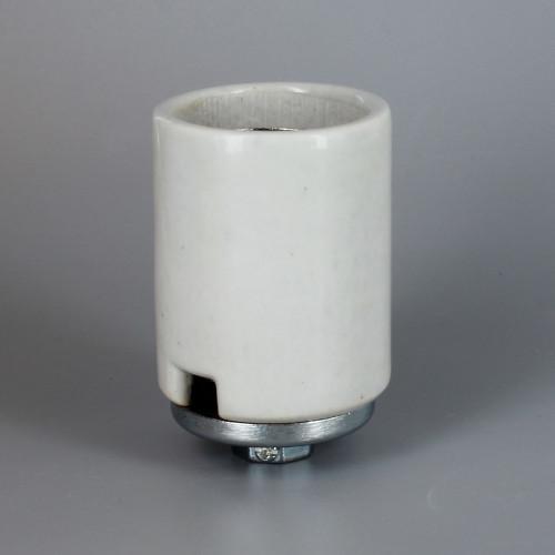 Import - E-39 Mogul Base Porcelain Keyless Socket with 1/4ips. Cap and Set Screw