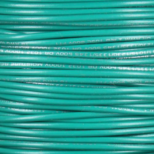 18/1 Single Conductor AWM 105 Degree Green Wire
