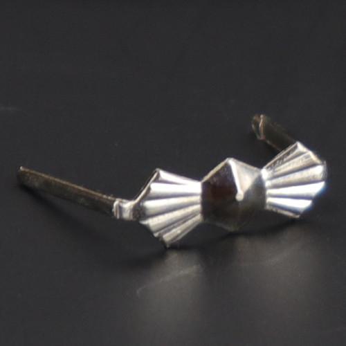 10.5mm. Chrome Bowtie Clip