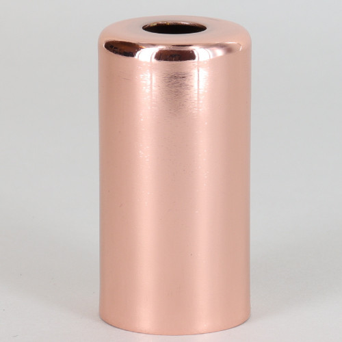 1-15/16in. Tall Candelabra Socket Cup - Copper Plated Finish