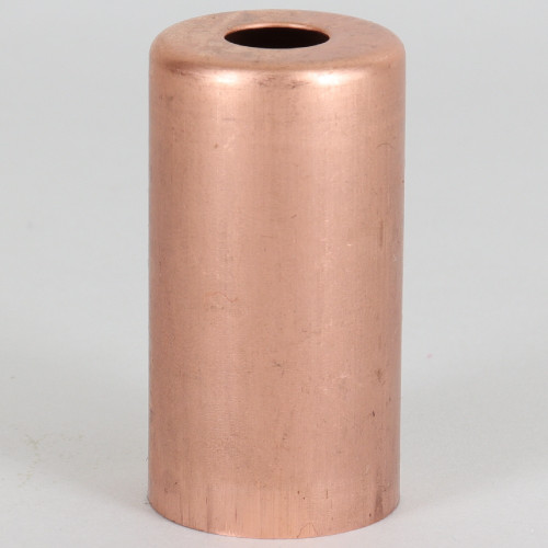 1-15/16in. Tall Candelabra Socket Cup - Unfinished Copper