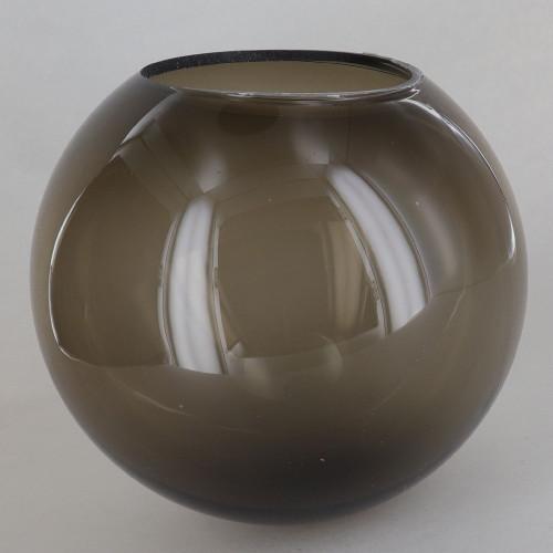 6in Diameter x 3in Diameter Hole Acrylic Neckless Ball - Bronze