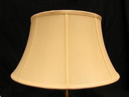 10in. Egg Shell Stretch Shantung Lamp Shade