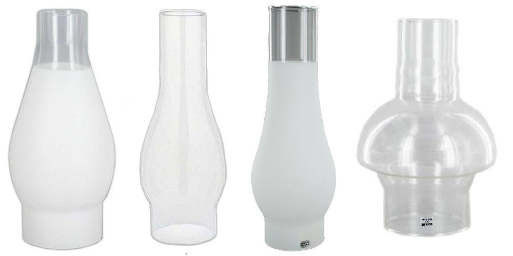 Chimney Style Glass Shades