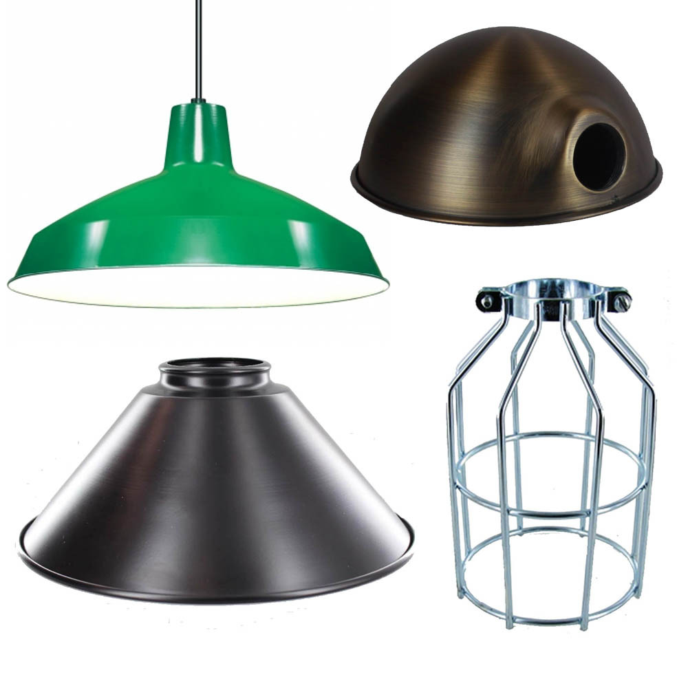 Metal Lamp Shades and Bulb Cages
