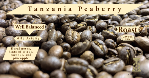 Tanzania Peaberry single serve 10 count bag