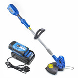 Hyundai 60v Lithium-ion Cordless Battery Grass Trimmer With Battery and Charger   HYTR60LI