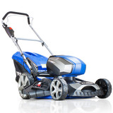Hyundai HYM80LI460P 80V Lithium-Ion Cordless Battery Powered Lawn Mower 45cm Cutting Width With Battery & Charger (40v and 60v Garden Machinery)