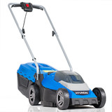 Hyundai HYM40LI330P 40V Lithium-Ion Cordless Battery Powered Roller Lawn Mower 33cm Cutting Width With Battery & Charger (40v and 60v Garden Machinery)