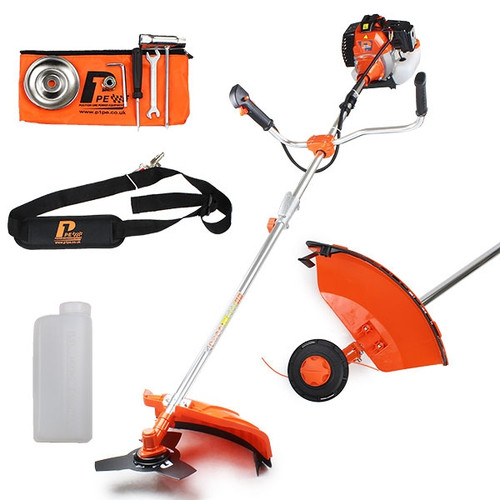 P1 P5200BC 52cc 2-stroke Petrol Grass Trimmer / Brushcutter (Powered by Hyundai)