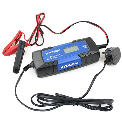 Hyundai HYSC-4000E SMART Battery Charger / Maintainer 220V