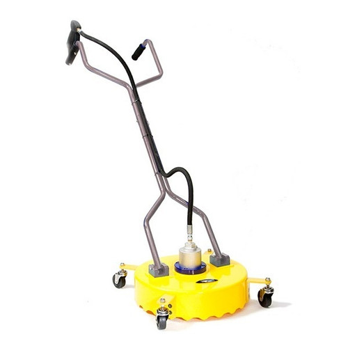 """BE Pressure Whirlaway 18"""" Rotary Flat Surface Cleaner Side View"""