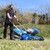 Hyundai 42cm Cordless 40v Lithium-Ion Battery Lawnmower with Battery and Charger   HYM40LI420P